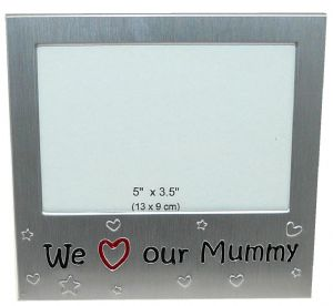 We Love Our Mummy Photo Picture Frame Gift 5 x 3.5